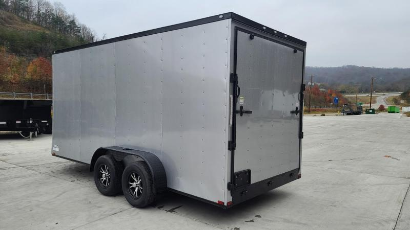 Spartan Cargo Spartan S7X16TA Enclosed Cargo Silver Frost