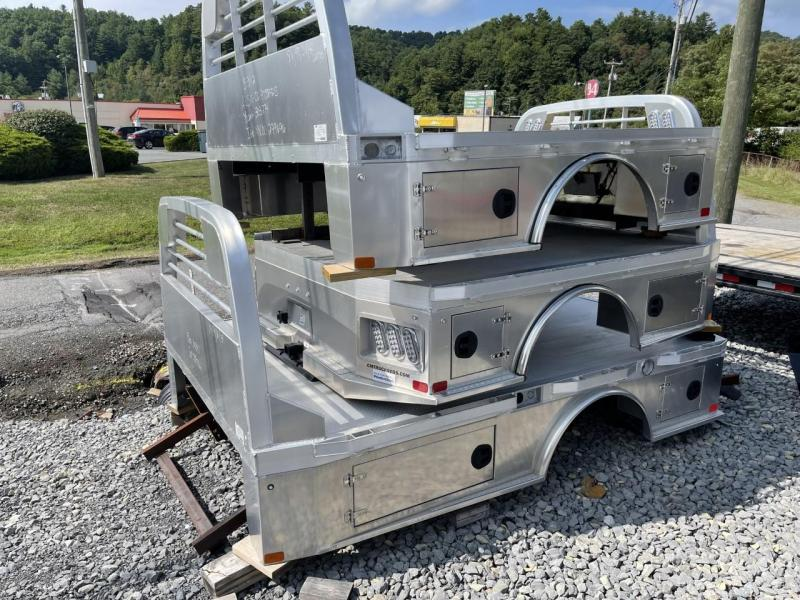 """2021 CM Truck Beds AL SK 8'6"""" x 97"""" Ram/Ford with ER Package"""
