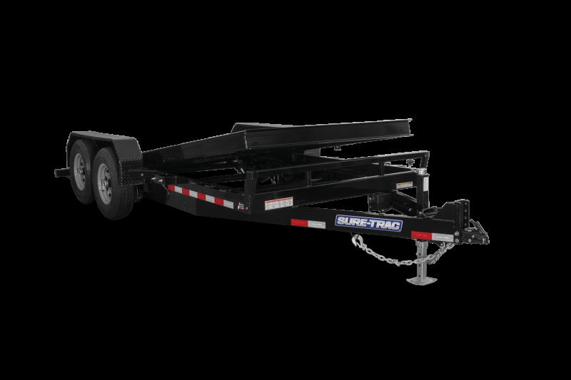 2021 Sure-Trac ST8218TBEB140 Equipment Trailer