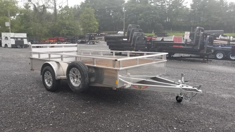 H and H Trailer 6X12 3K Aluminum High Side Utility Trailer