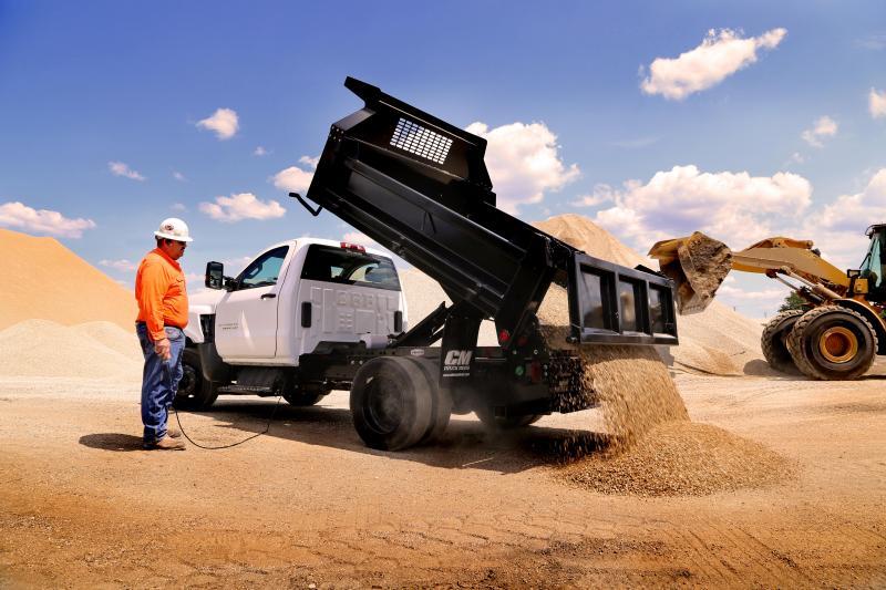 CM Truck Beds 9 Ft Dump Bed With Hoist Truck Bed