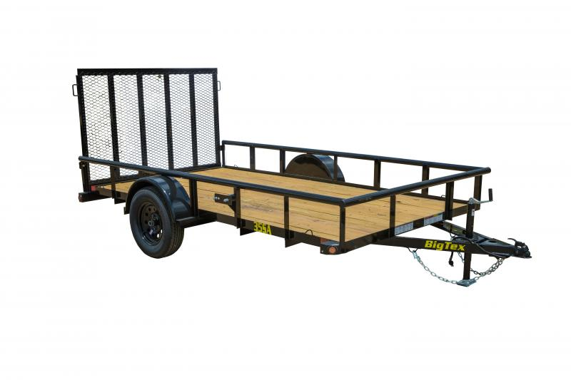 "2021 Big Tex Trailers 35SA- 77"" x 10' Utility Trailer"