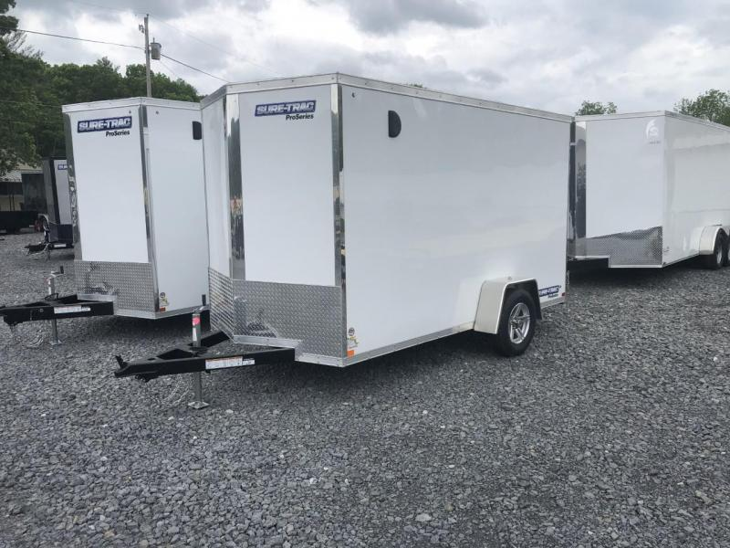 2021 Sure-Trac 6' x 12' Pro Series Wedge Enclosed