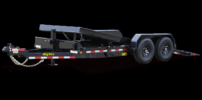 """2022 Big Tex Trailers 14FT-83"""" x 18' Full Tilt 14K Equipment Trailer"""