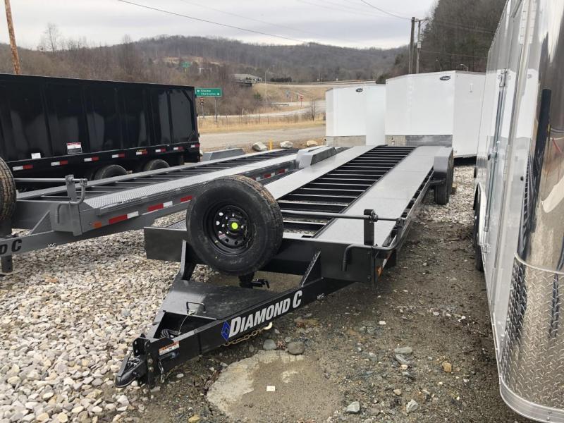"2021 Diamond C Trailers MVC 82"" x 30' 14K Multi Vehicle Car Hauler"