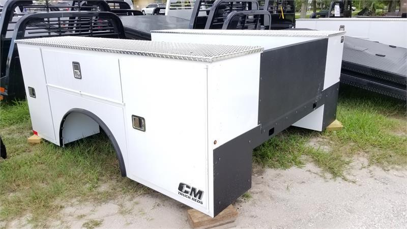 """2020 CM Truck Beds Steel Service Body 110"""" x 94 - 60"""" Cab To Axle Cab Chassis"""