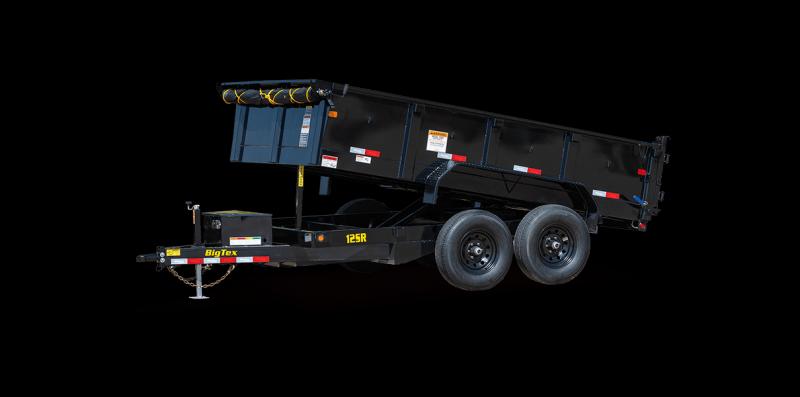 2022 Big Tex Trailers 12SR12XLBKSIR Dump Trailer