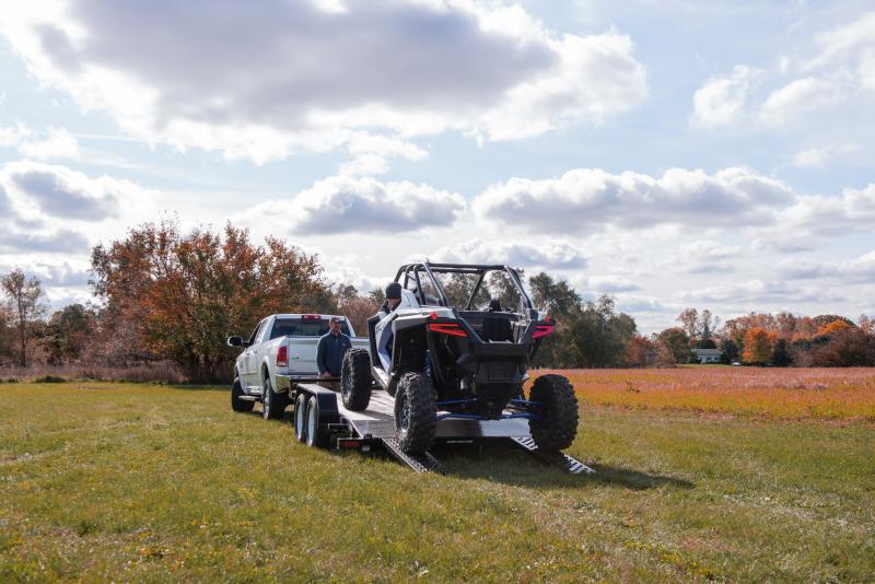 2021 Sure-Trac 7 x 20 (18+2) 10K C-Channel Car Hauler Trail