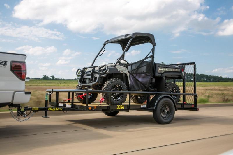 2022 Big Tex Trailers 35SA10BK4RG Utility Trailer