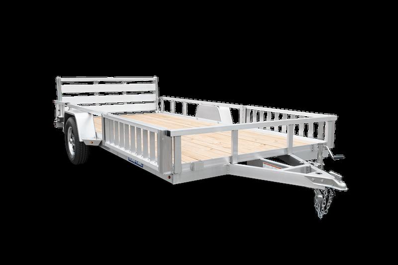 """2021 Sure-Trac 82"""" x 14' All Aluminum ATV Trailer"""