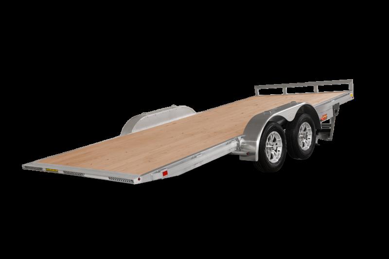 2021 H and H Trailer 82x20 Aluminum Electric Tilt Speed Loader 10K Car Hauler