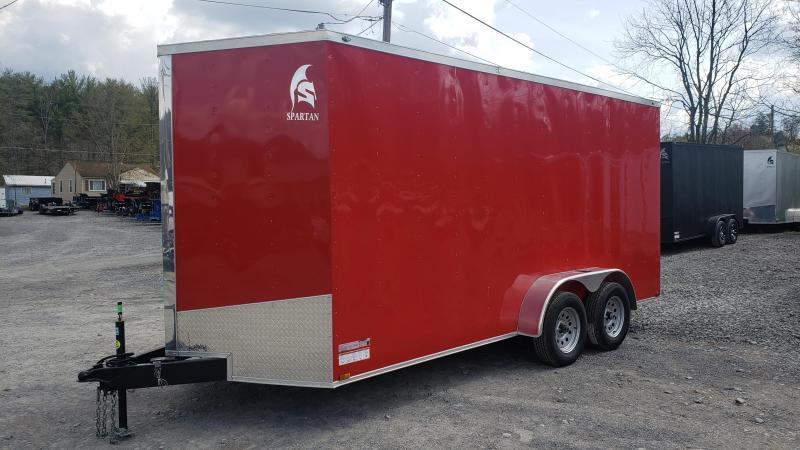 Spartan 7X16 7K Enclosed Red