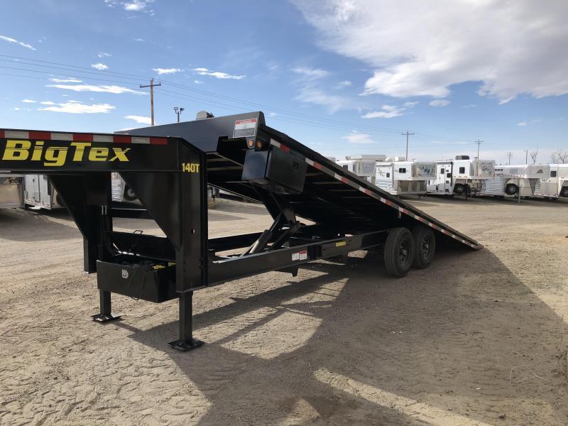 Big Tex Trailers 14OT 102X22 15K Gooseneck Deck Hydraulic Full Tilt
