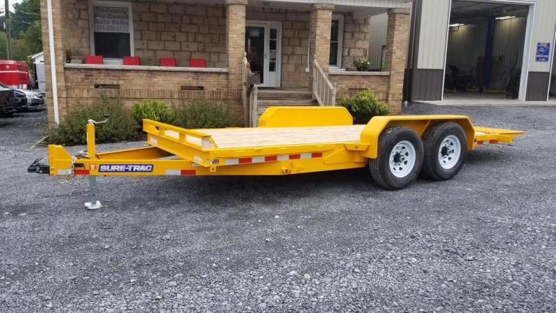 Sure-Trac 7X18 14K Tilt Bed Equipment