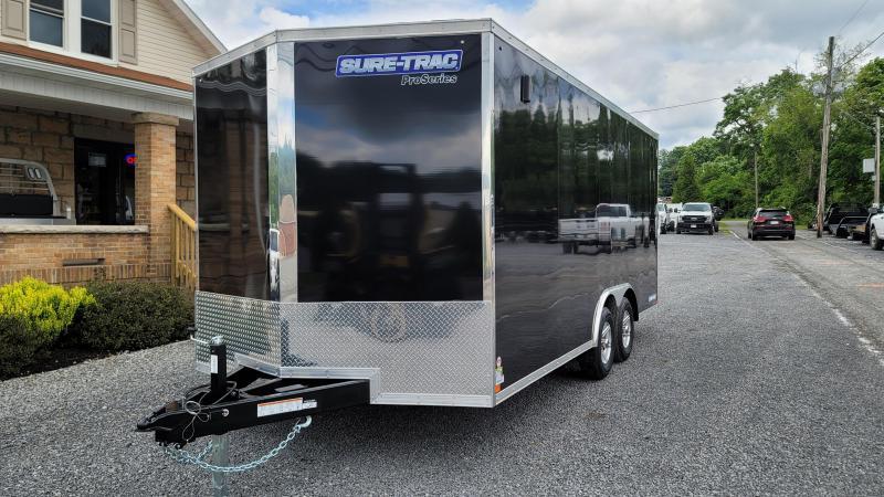 2021 Sure-Trac 8.5 x 18 Pro Series Enclosed Wedge Cargo