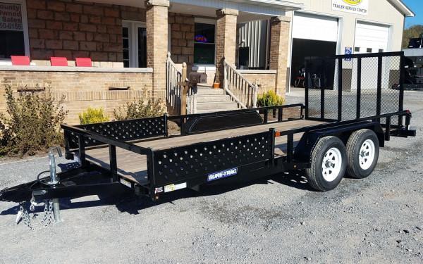 Sure-Trac ATV Side Ramps 7 x 16