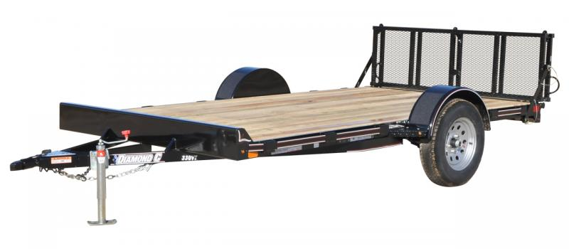 2021 Diamond C Trailers UVT Utility Trailer - Metallic Blue