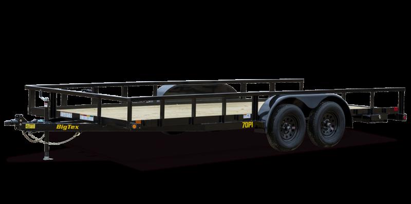 2022 Big Tex Trailers 70PI18XBK4RGGA Utility Trailer