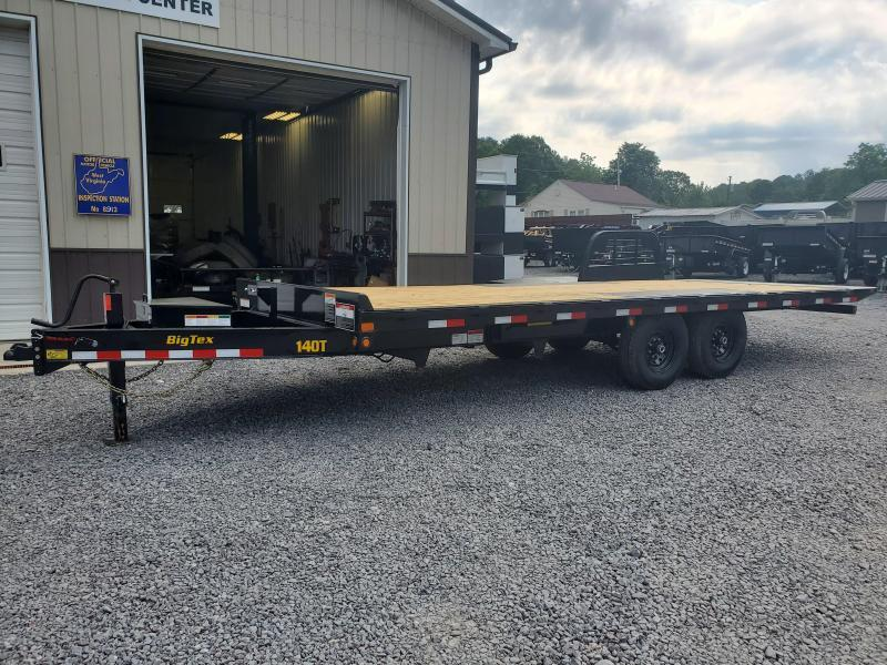 Big Tex Trailers 14OT 102X22 Full Hydraulic Tilt 14K Equipment Trailer