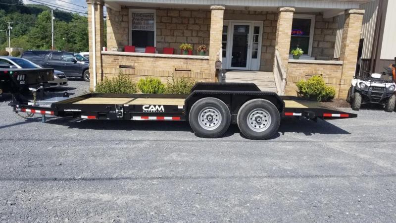 Cam Superline 7X16+4 14K Split Tilt Equipment Trailer