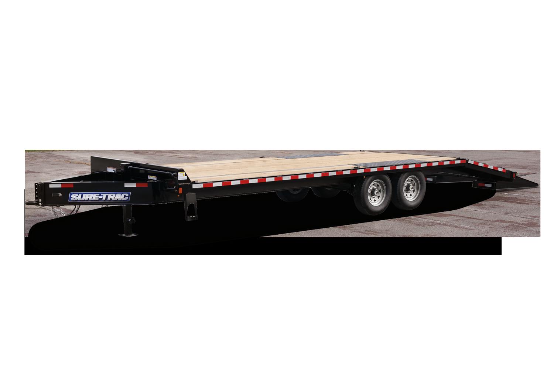 2020 Sure-Trac Sure-Trac 8.5 x 20 + 4 14k Deckover Flatbed Trailer