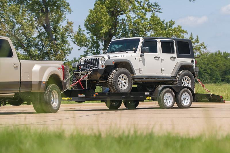 2022 Big Tex Trailers 70CH20BK Car / Racing Trailer