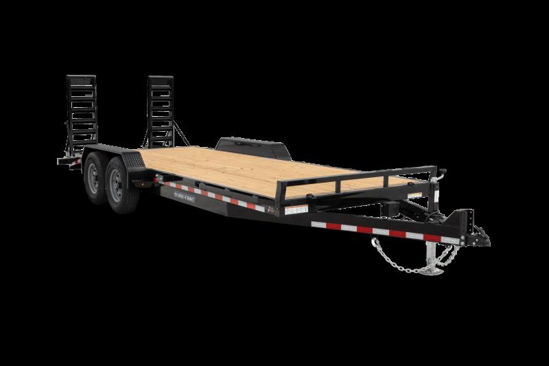 2022 Sure-Trac ST8218ETFDB100 Equipment Trailer