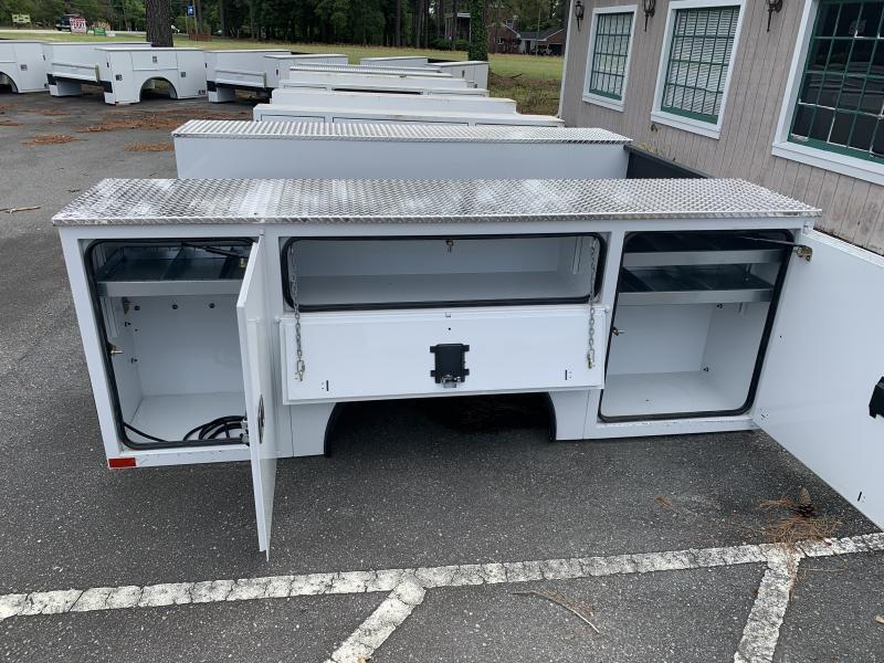 2021 CM Truck Beds Steel Service Body - 98/94 Long Bed Dually Pick Up