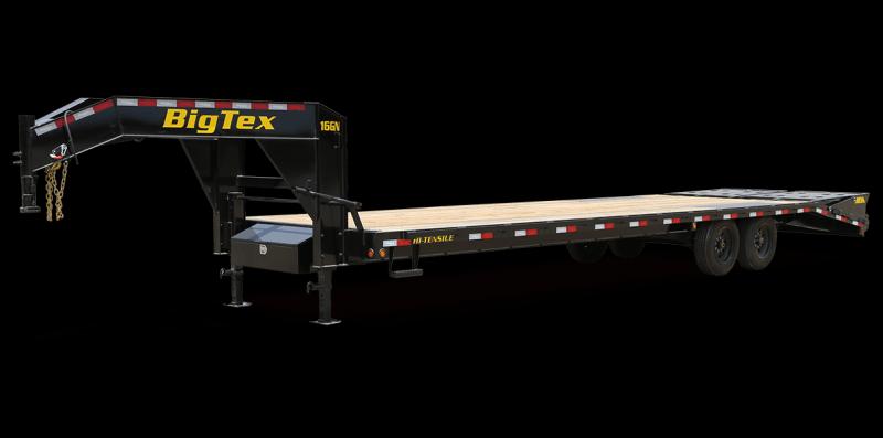2022 Big Tex Trailers 16GN-25+5 17,500 GVW With Mega Ramp