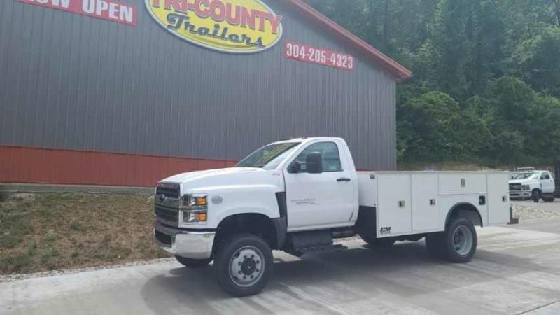 """2021 CM Truck Beds Steel Service Body - 134"""" x 94""""  - 84"""" Cab To Axle"""