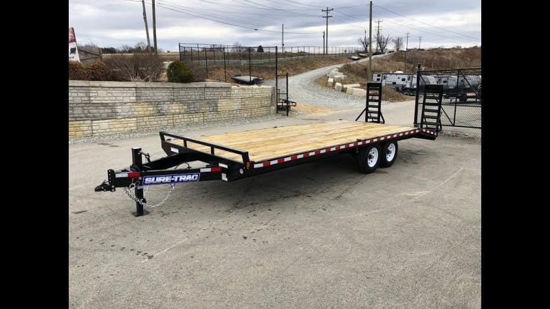 2021 Sure-Trac 8.4 x 20+4 15000 GVW Equipment Trailer
