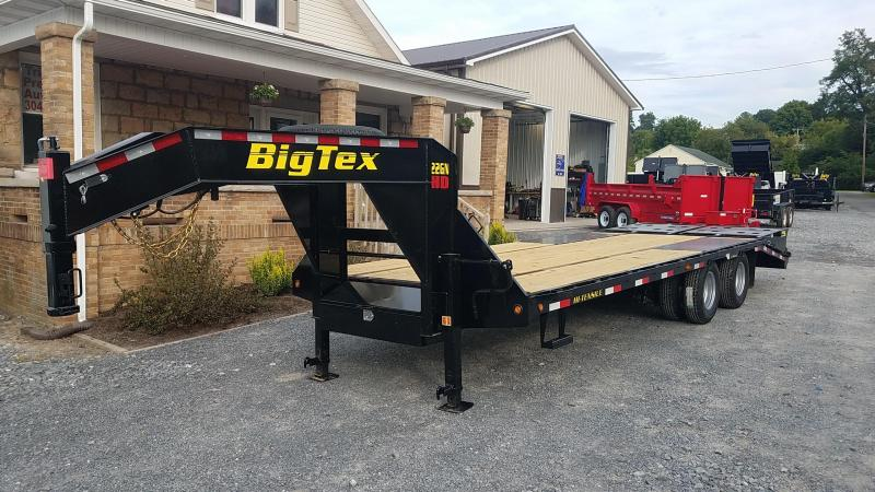 2020 Big Tex Trailers 22GN-20+5 Mega Ramp Equipment Trailer