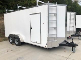 2022 Spartan Cargo SP7X16TA Enclosed Cargo Trailer