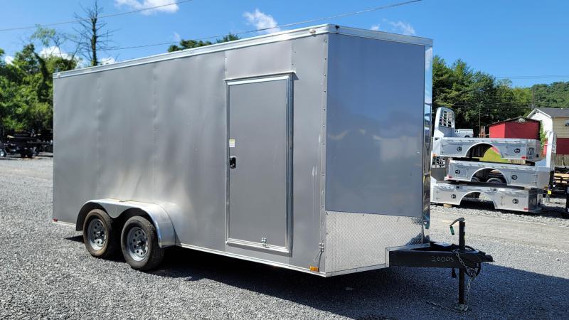 USED 2021 Spartan Cargo 7X16TA Enclosed Cargo Trailer