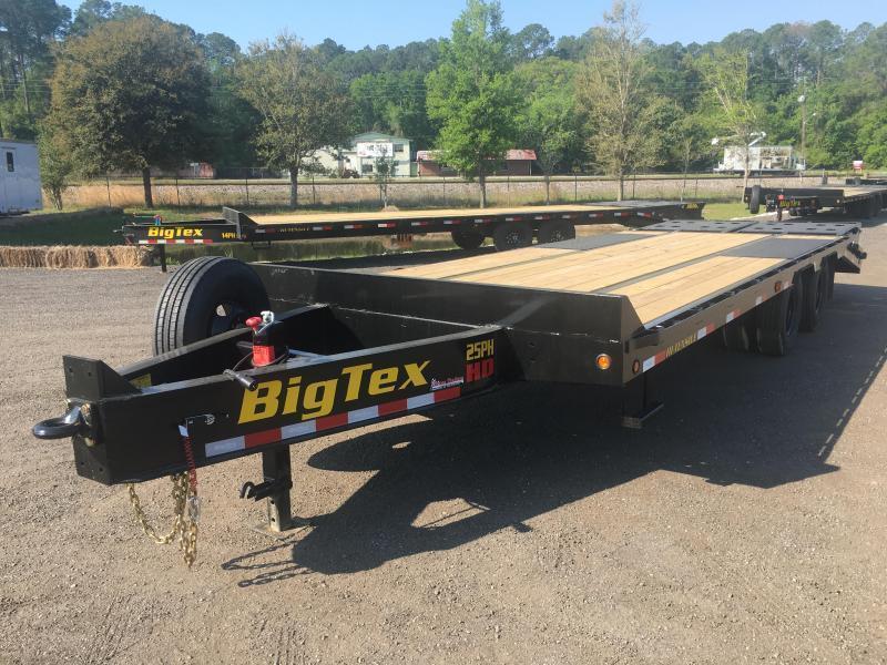 2021 Big Tex Trailers 25PH-20+5 With Mega Ramp Equipment Trailer