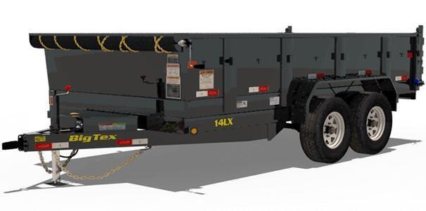 2020 Big Tex Trailers 14LX-12 Dump Trailer Tarp Installed
