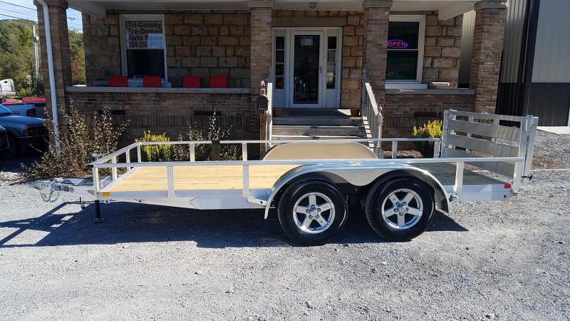 2020 H and H Trailer ST8214TA Utility Trailer