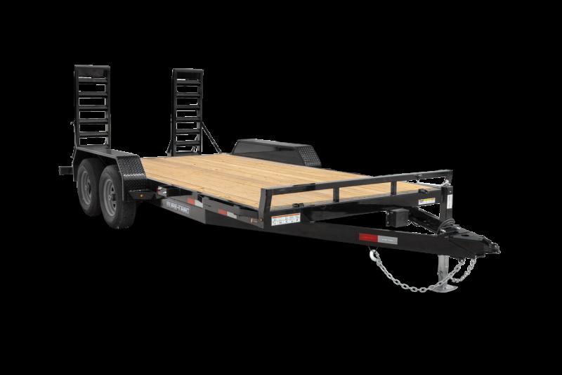 "2021 Sure-Trac 82"" x 20' 10K Equipment Trailer"