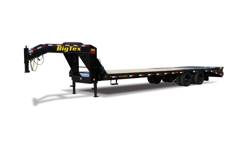 2021 Big Tex Trailers 22GN-25+5 With Mega Ramp Equipment Trailer