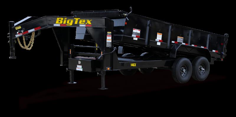 2022 Big Tex Trailers 14GX16BK Dump Trailer