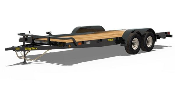 2020 Big Tex Trailers 7ch18bk Car Hauler No Dove Tail