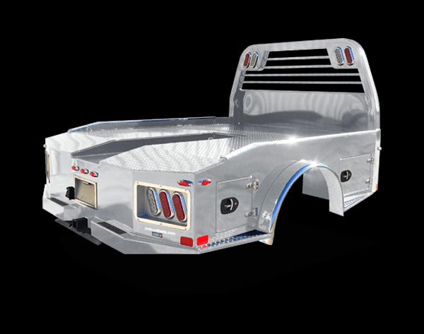 """2019 CM  Aluminum ER Model Truck Bed  8'6"""" x 97""""/56/42 Chevy Bed Take Off"""