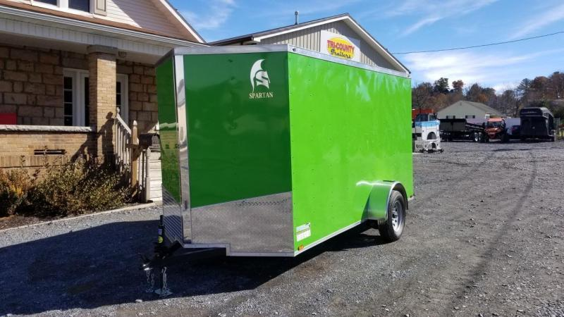 Spartan 6X12 3K Enclosed Electric Green