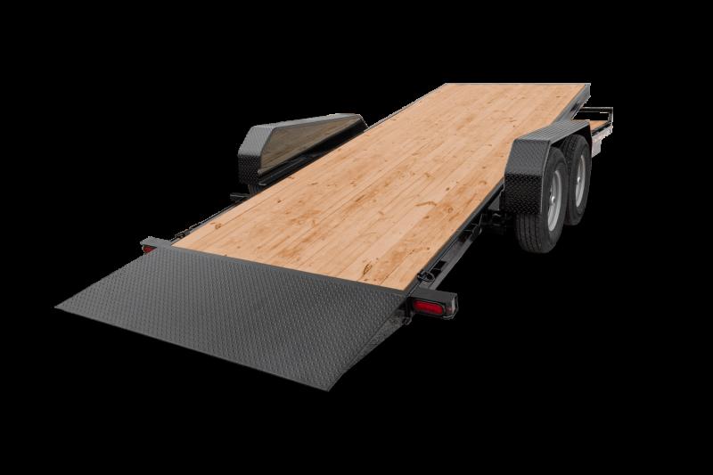 "2021 Sure-Trac 82"" x 18'+4' 14K Tilt Equipment Trailer"