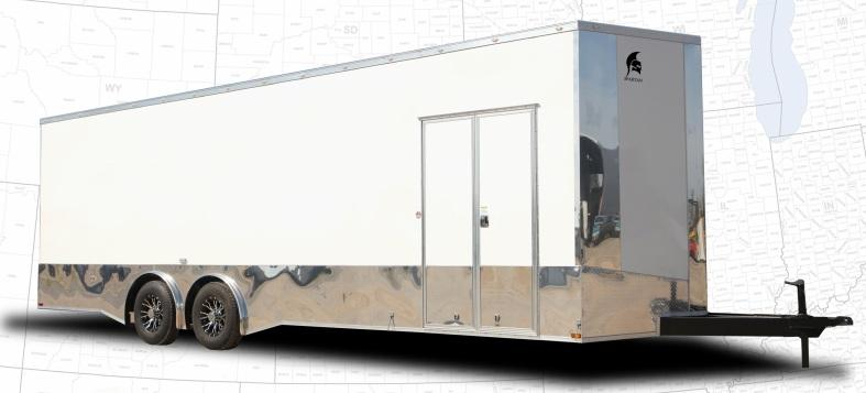2022 Spartan 8.5' x 20' 10K GVW Enclosed 7' Ceiling Height
