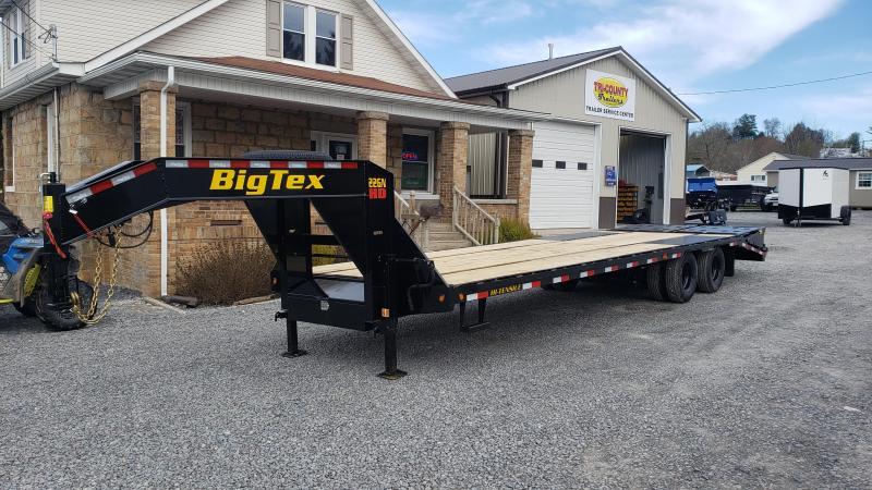 Big Tex Trailers 22GN 102X25+5 23.9K Gooseneck Deckover
