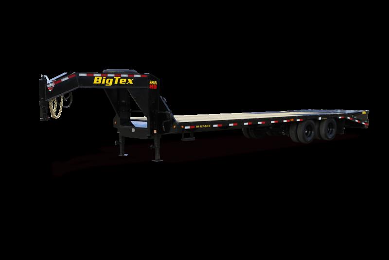 2021 Big Tex Trailers 22GN-20+5 Mega Ramp Equipment Trailer