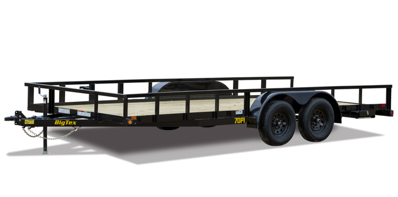 2022 Big Tex Trailers 70PI18BK4RG Utility Trailer