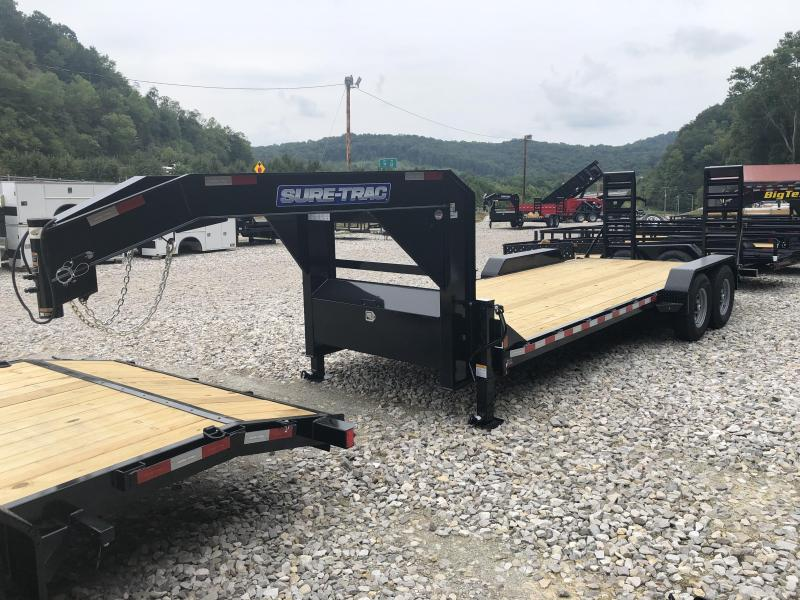 2021 Sure-Trac ST8224ET-B-114 Equipment Trailer