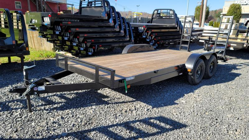 USED 2020 Carry-On 7X18HDEQDTFR Equipment Trailer